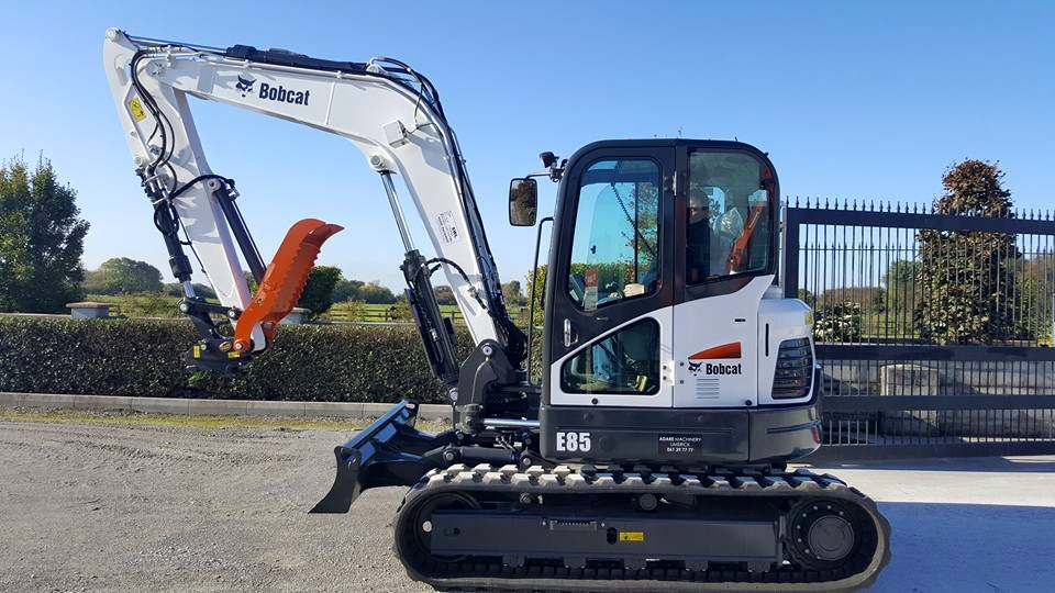 New Bobcat E85 Excavator Delivered Adare Machinery